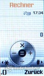 Motorola SGH-F210: Rechner