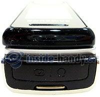Motorola SGH-F210: Seitenansicht oben