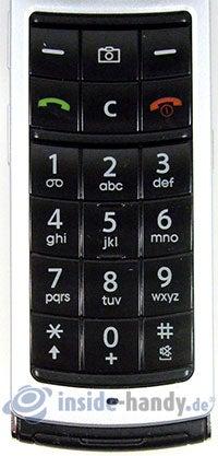 Motorola SGH-F210: Tastatur