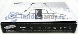 Motorola SGH-F210: Verpackung