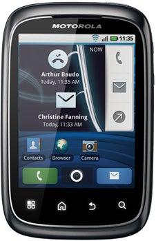 Motorola Spice Datenblatt - Foto des Motorola Spice
