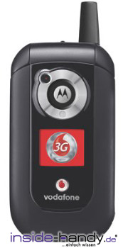 Motorola V1050 Datenblatt - Foto des Motorola V1050