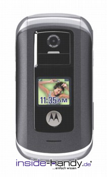 Motorola V1070 Datenblatt - Foto des Motorola V1070
