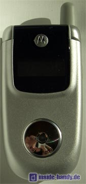 Motorola v220 : Frontalansicht geschlossen
