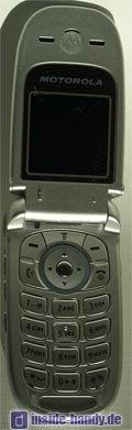 Motorola v220 : Innenansicht