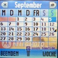 Motorola v220 : Kalender