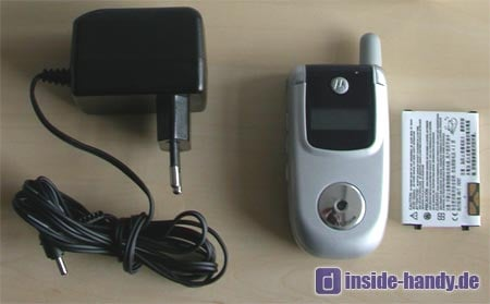 Motorola v220 : Lieferumfang