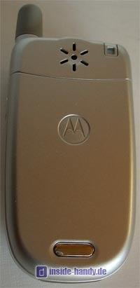 Motorola v220 : Rückseite