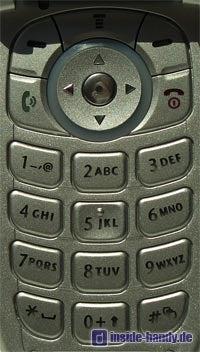 Motorola v220 : Tastatur