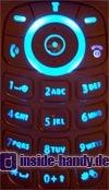 Motorola v220 : Tastaturbeleuchtung