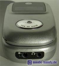 Motorola v220 : Unterseite