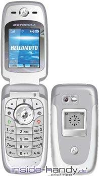 Motorola V360 Datenblatt - Foto des Motorola V360