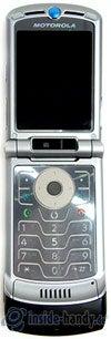 Motorola V3xx: Draufsicht