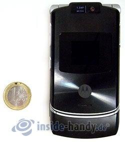 Motorola V3xx: Größenverhältnis