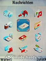 Motorola V3xx: Hauptmenü