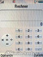 Motorola V3xx: Rechner