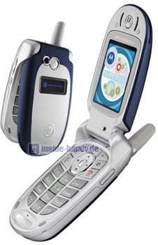 Motorola V555 Datenblatt - Foto des Motorola V555