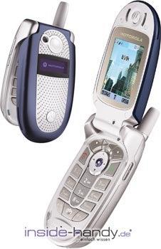 Motorola v560 Datenblatt - Foto des Motorola v560