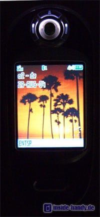 Motorola V80 - Beleuchtung