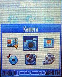 Motorola V80 - Kameramenü
