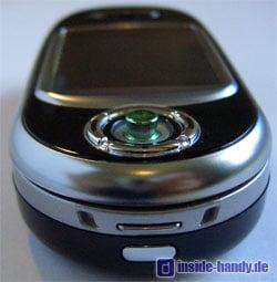 Motorola V80 - Oberseite