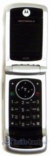 Motorola W220: aufgeklappt