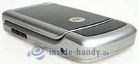 Motorola W220: links unten