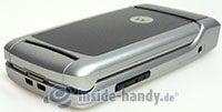 Motorola W220: oben links