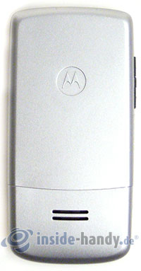 Motorola W220: Rückseite