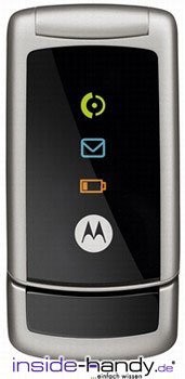 Motorola W220 Datenblatt - Foto des Motorola W220