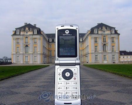 Motorola W375: beim Fotografieren