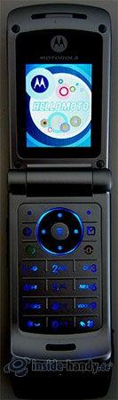 Motorola W375: Beleuchtung