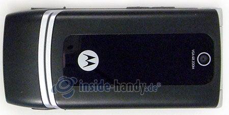 Motorola W375: Draufsicht