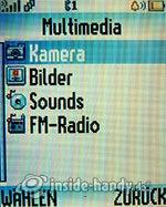 Motorola W375: Multimedia