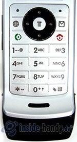 Motorola W375: Tastatur