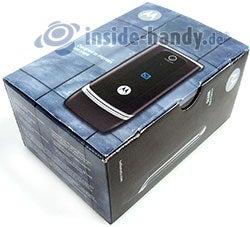 Motorola W375: Verpackung