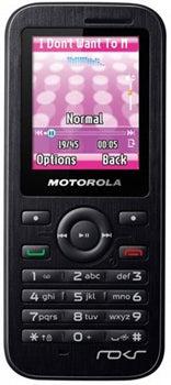 Motorola WX395 Datenblatt - Foto des Motorola WX395