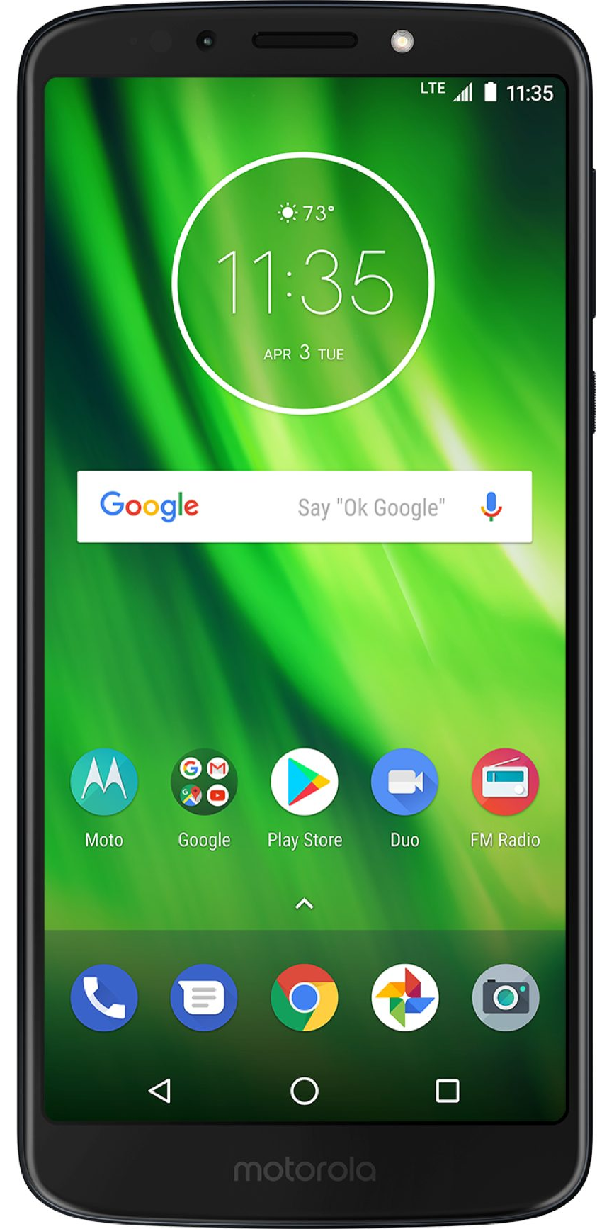 Motorola Moto G6 Play Front