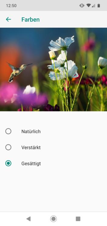 Motorola Moto G7 Einstellungen