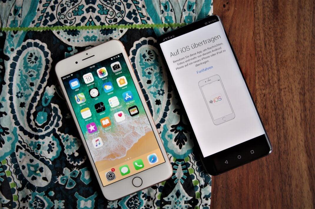 Mit Move to iOS Daten von iPhone auf Android-Smartphone übertragen