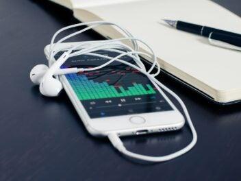 Musik-Streaming auf dem Smartphone.