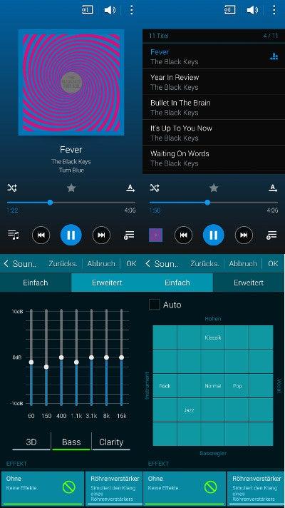 Musik-App des Galaxy S5 mini