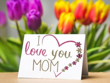 Grüße zum Muttertag.