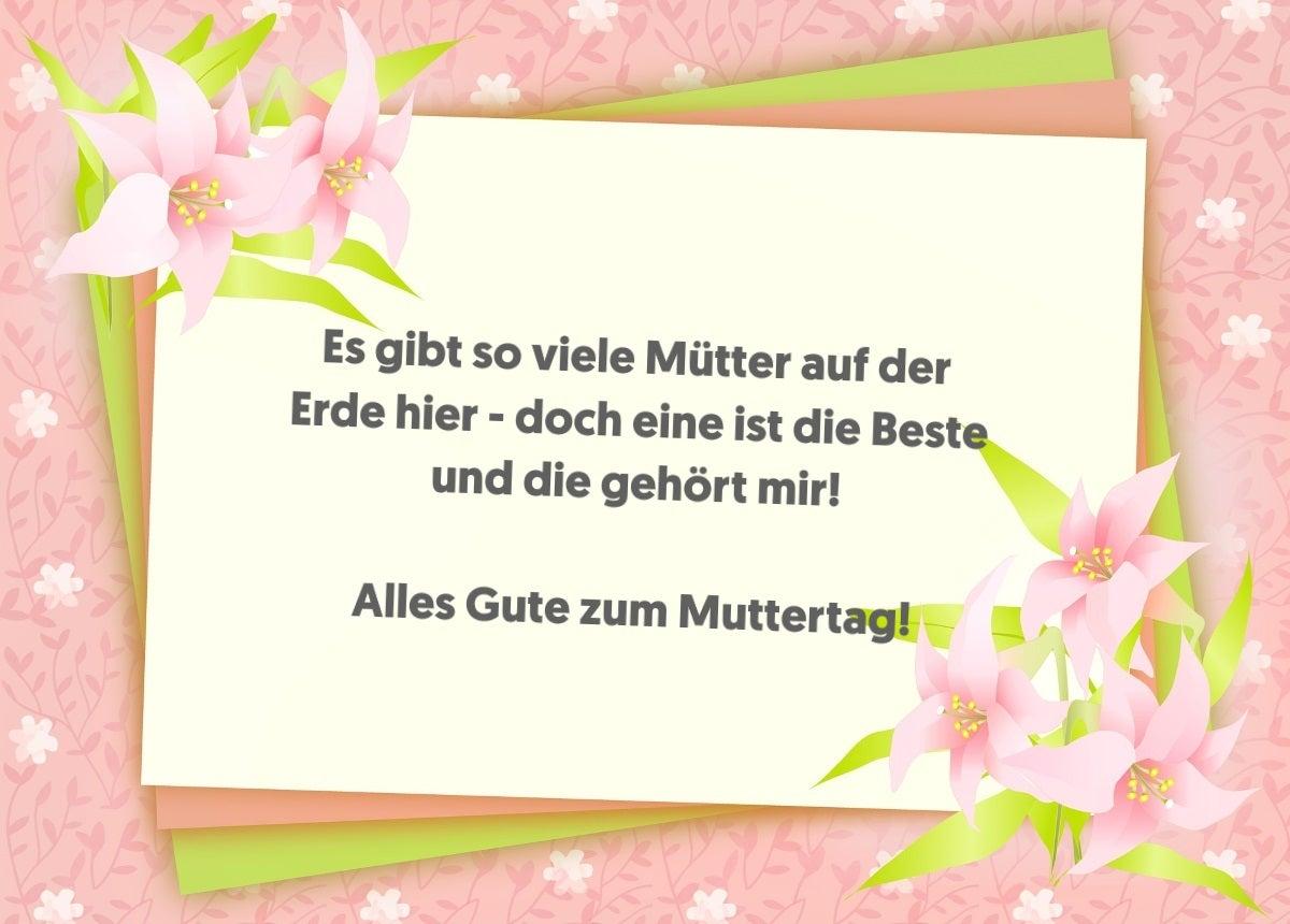 Whatsapp Grusse Zum Muttertag Die Schonsten Spruche Zum Versenden