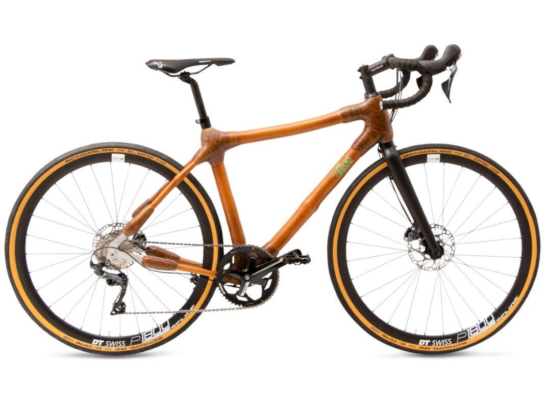 12 kg leichtes Bambus-Bike von my Boo