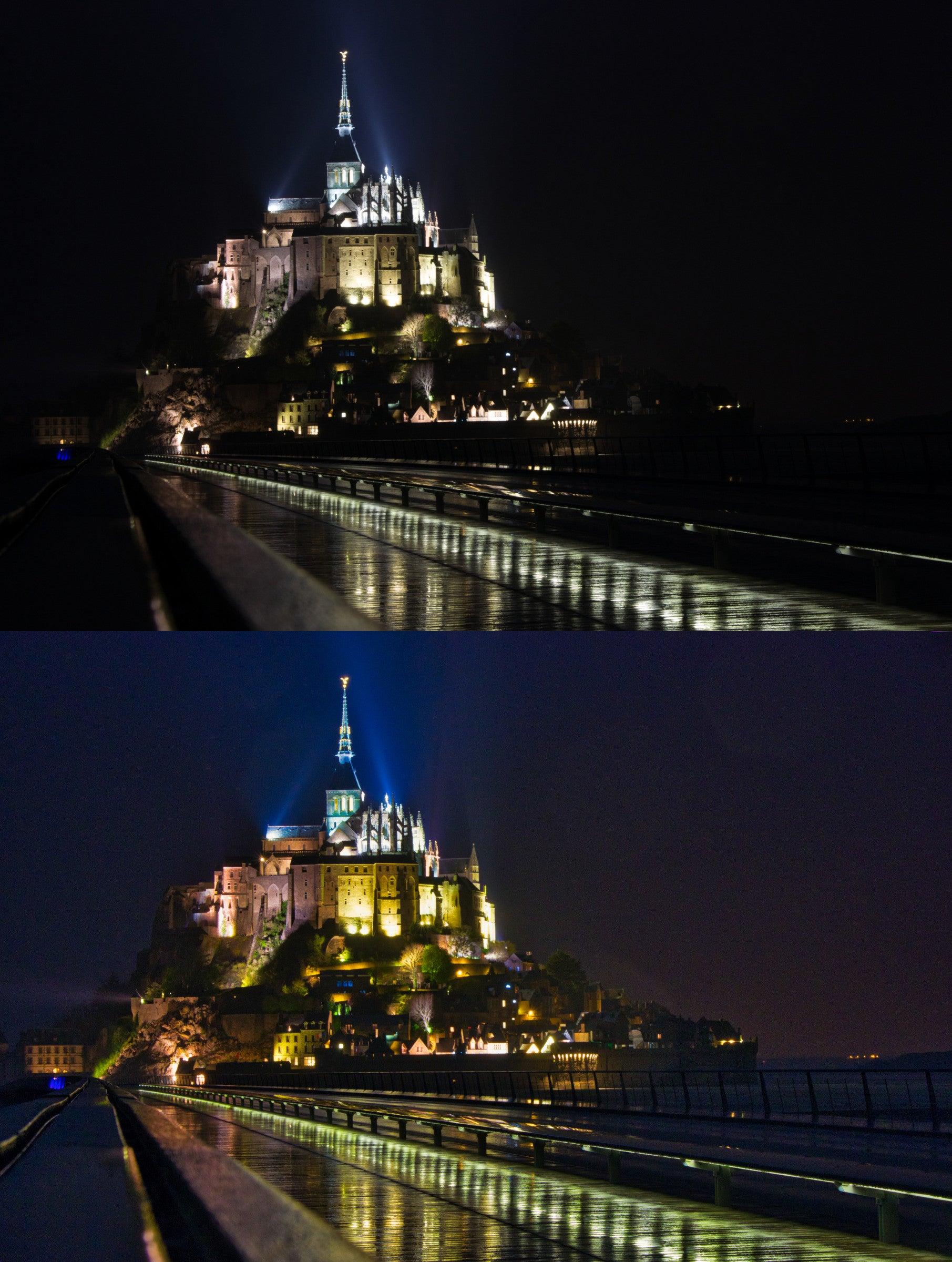 Bilder bei Nacht lassen sich enorm gut mit Luminar optimieren