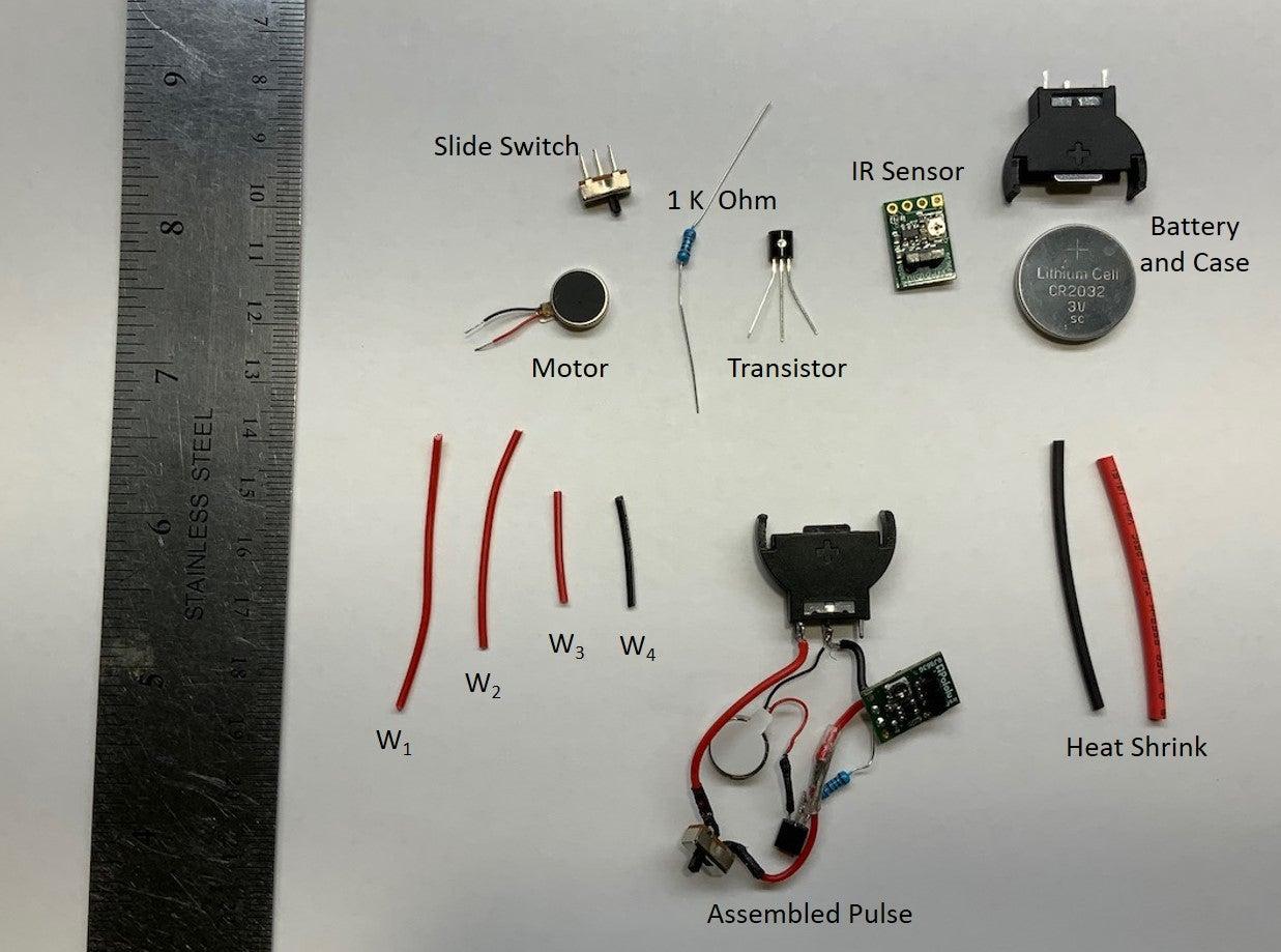 NASAs PULSE-Gadget: Benötigte Materialien