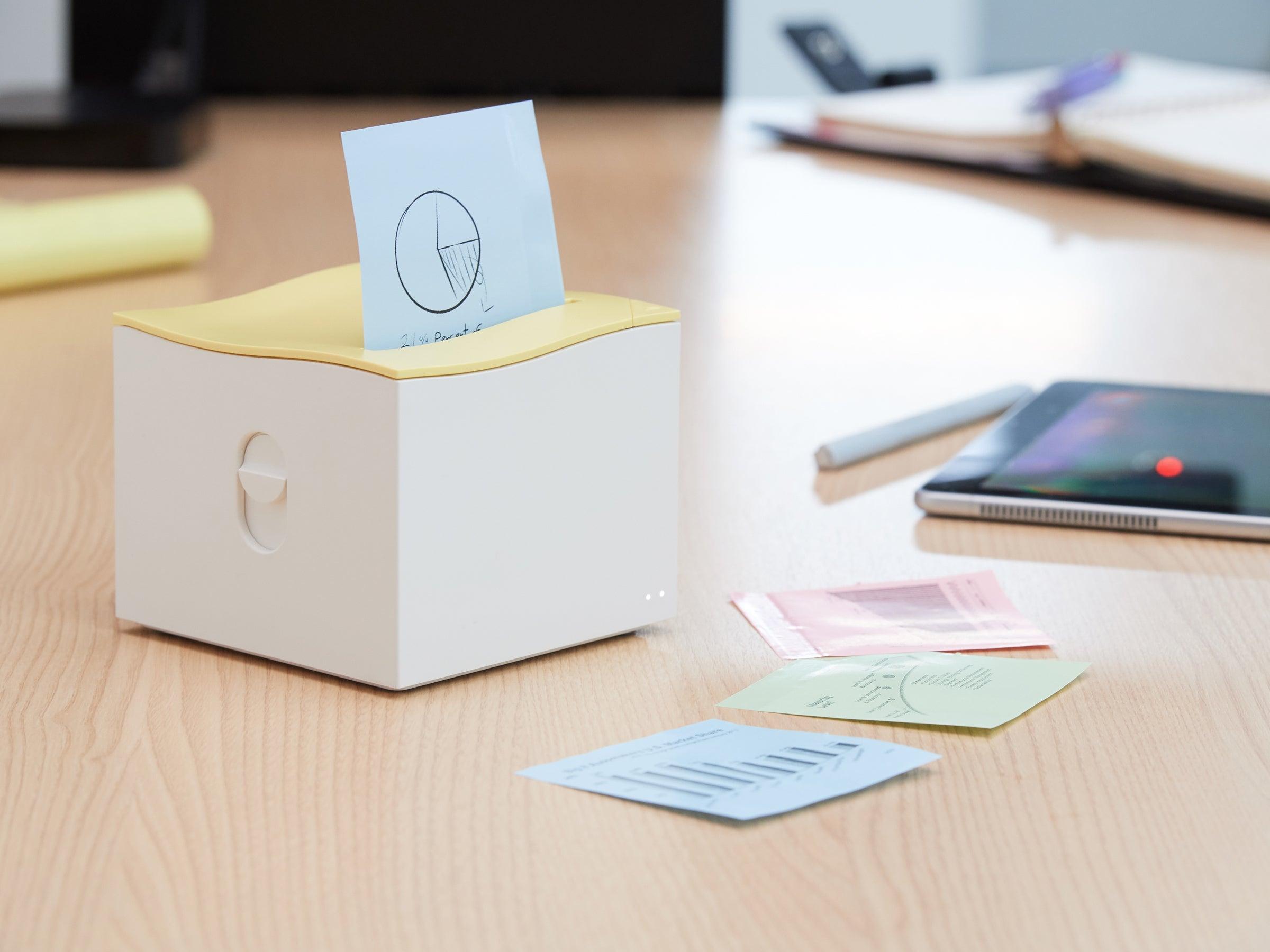 Post-it-Drucker Nemonic Sticky Note Printer