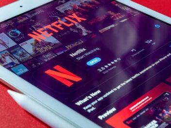 Netflix auf einem iPad