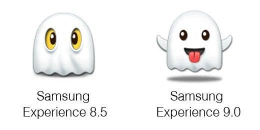 Neue Emojis Samsung